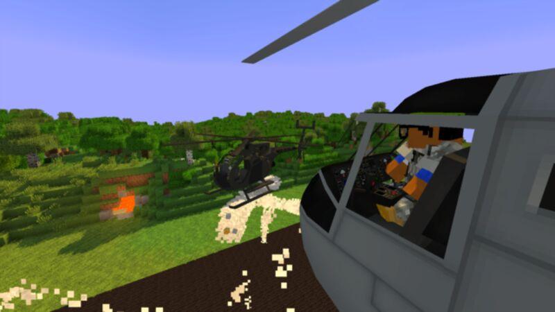 Chopper using Smoke