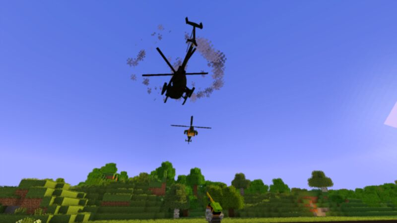 Shooting down a Chopper