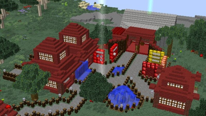Top view Of spawn