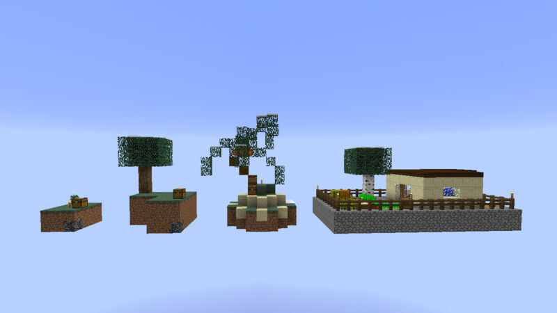 SkyBlock offers Island options!
