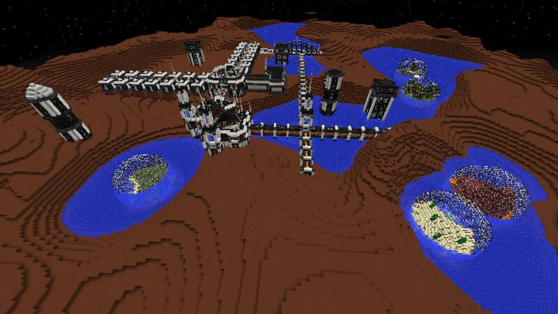 Martian city of the Ancients